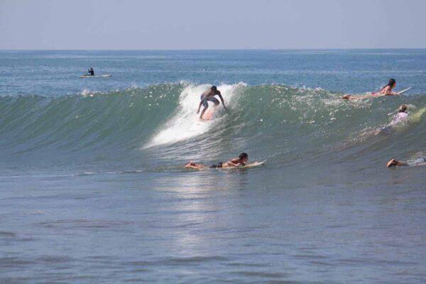 Beach break at Kuta, Bali.