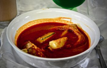 Fish curry, Pontianak.