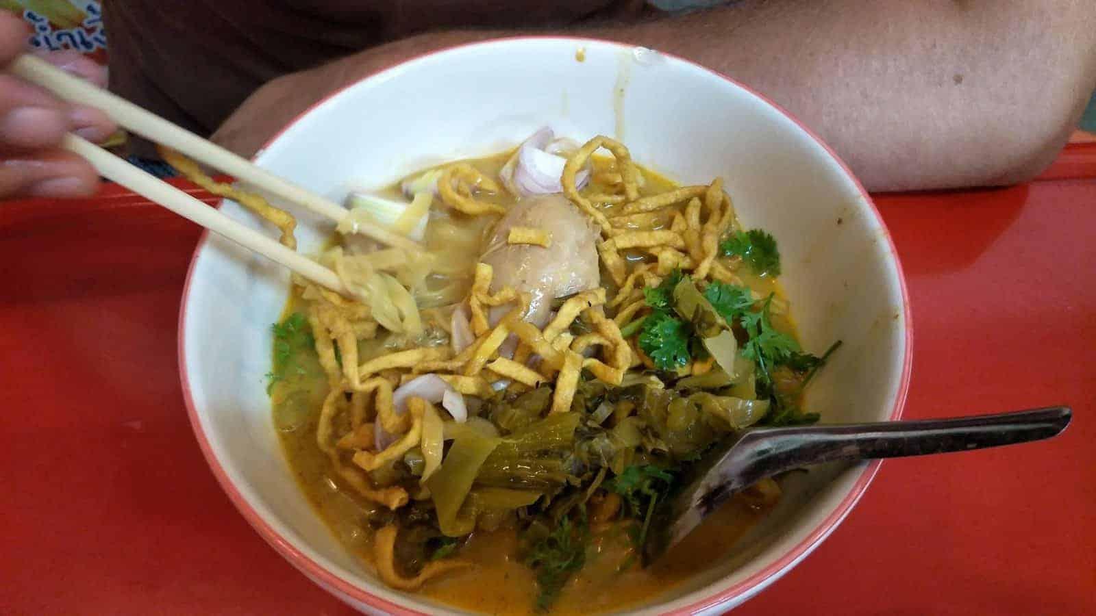 Khao Soi: Chiang Mai's most famous dish - 30 THB