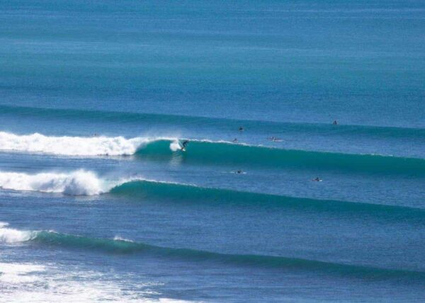 Only for the expert! Huge waves in Bali.