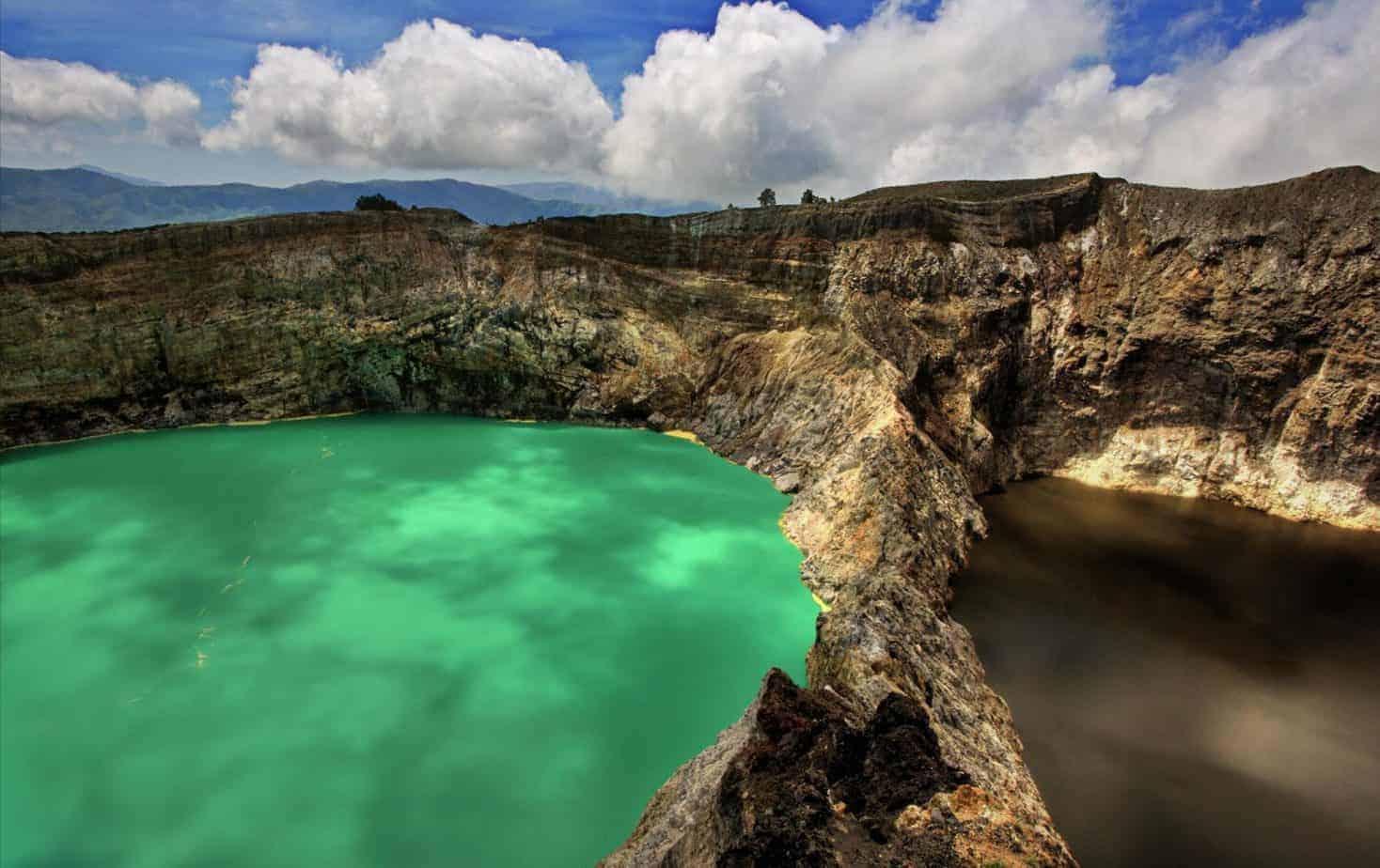 Kelimutu Volcano Lakes, Flores, Indonesia