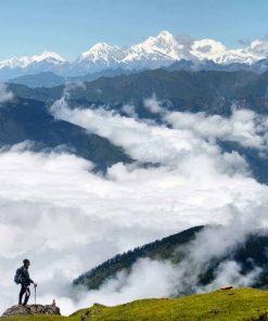 Langtang Valley National Park, Nepal.