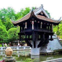 One-Pillar-Pagoda, Vietnam.