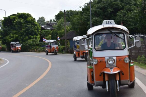 Northern Thailand Adventure with the Tuk Tuk Club.