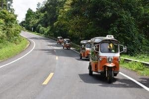 On the road with the Tuk Tuk Club!