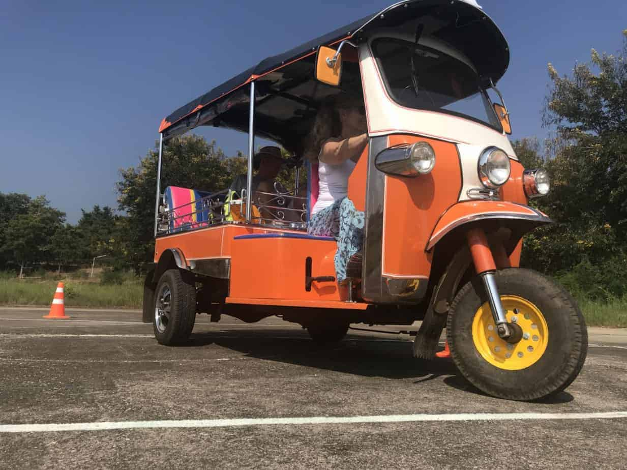Get to know your own Tuk Tuk on the Tuk Tuk Adventure, Northern Thailand.