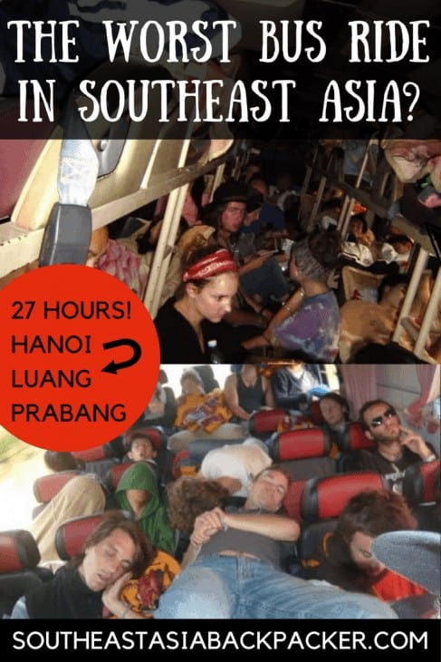 The worst bus journey in southeast asia