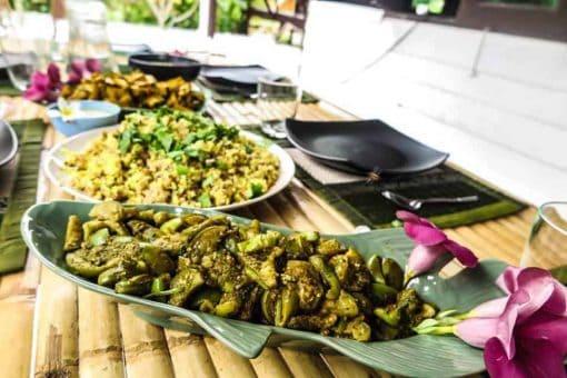 Healthy food - La Casa Shambala, Koh Phangan