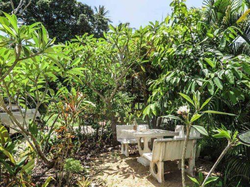 Garden at La Casa Shambala, Koh Phangan