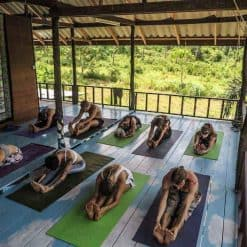 Yoga at La Casa Shambala, Koh Phangan