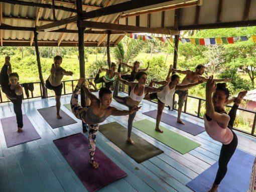 Yoga at La Casa Shambala, Koh Phangan