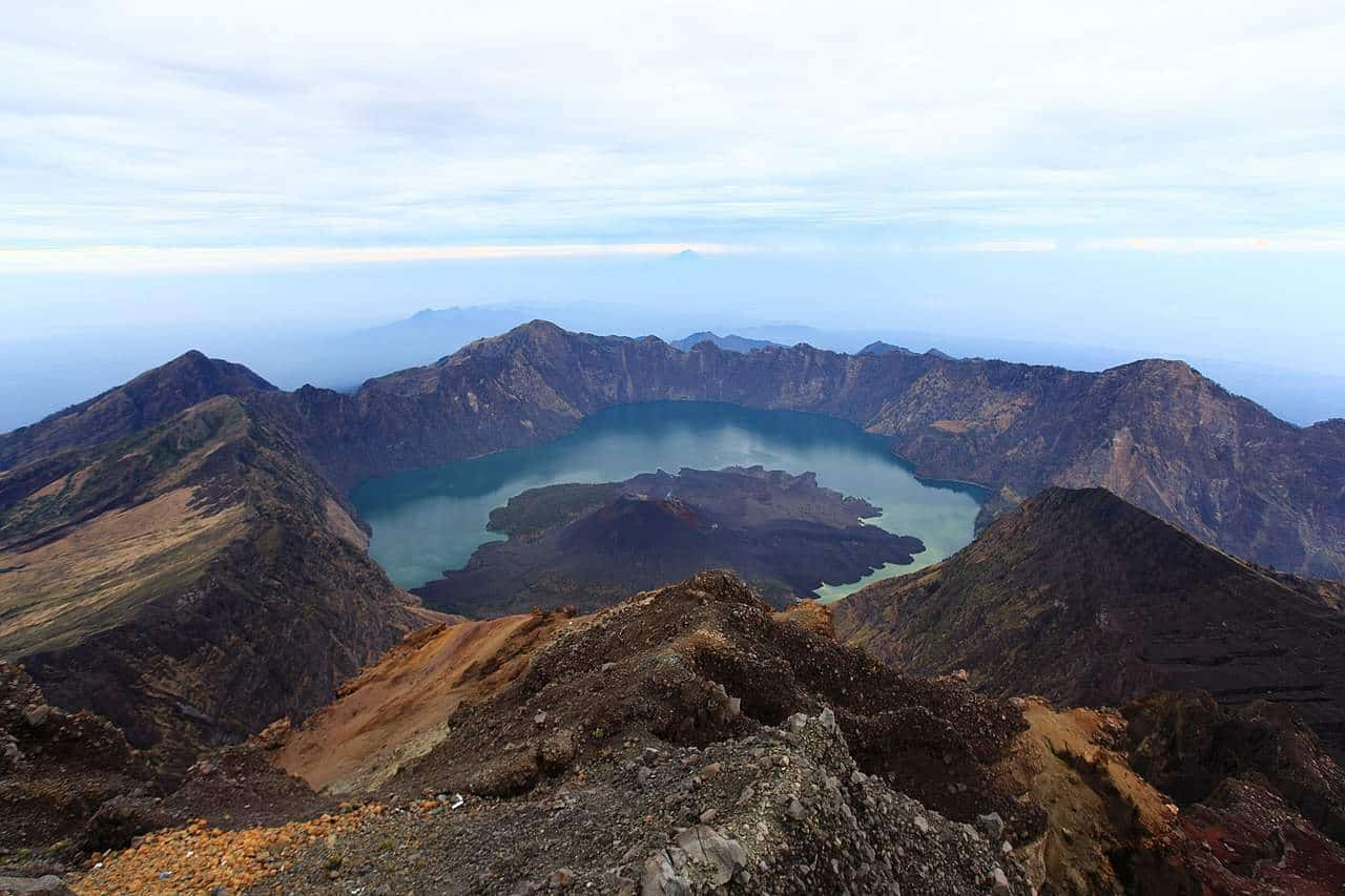 Mount Rinjani View