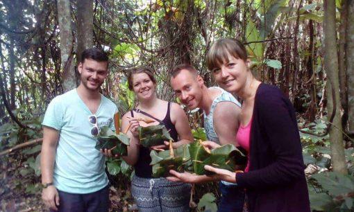 Trekking group trip in Mae Wang, Chiang Mai