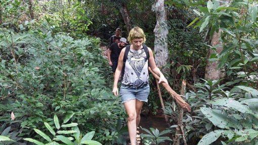 Trekking in Mae Wang, Chiang Mai, Thailand