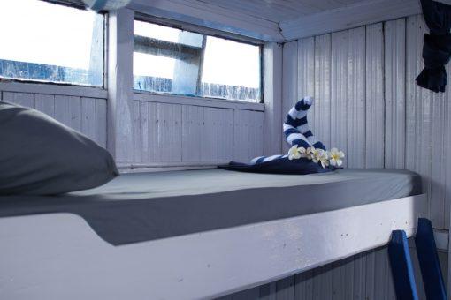 8 berth cabin, Komodo Shalom Liveaboard