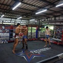 Attachai Gym, Bangkok, Thailand.
