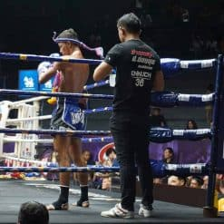 Competitive Fighting at Attachai Muay Thai Gym, Bangkok.