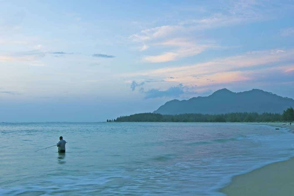 Lhoknga Beach, Aceh, Northern Sumatra.