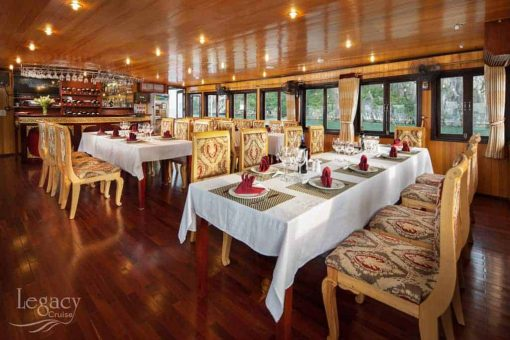 Dining Room - Halong Bay Cruise