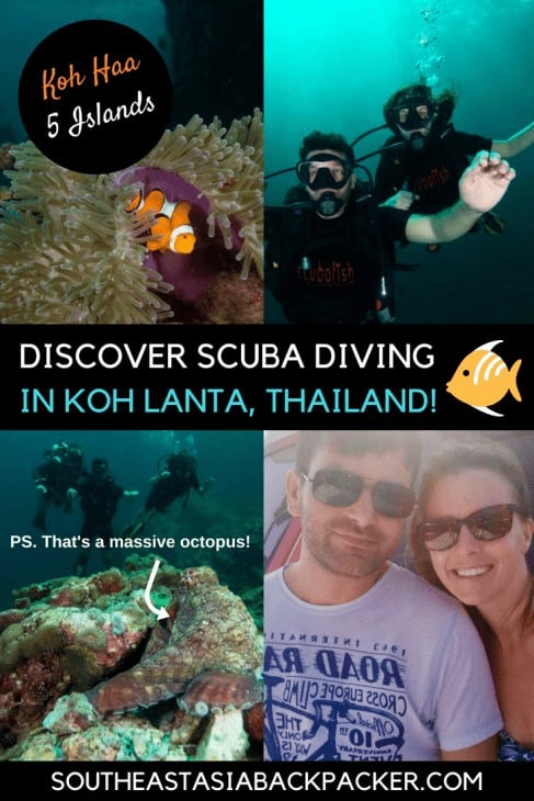 Scuba Diving in Koh Lanta, Thailand