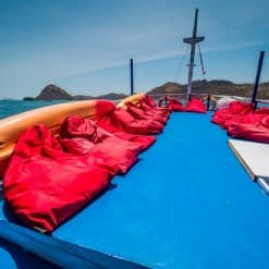 Sun and Moon Deck, Komodo Shalom Liveaboard.