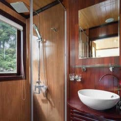 Bathroom on the boat