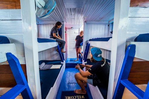 Komodo Shalom Liveaboard Dorm rooms