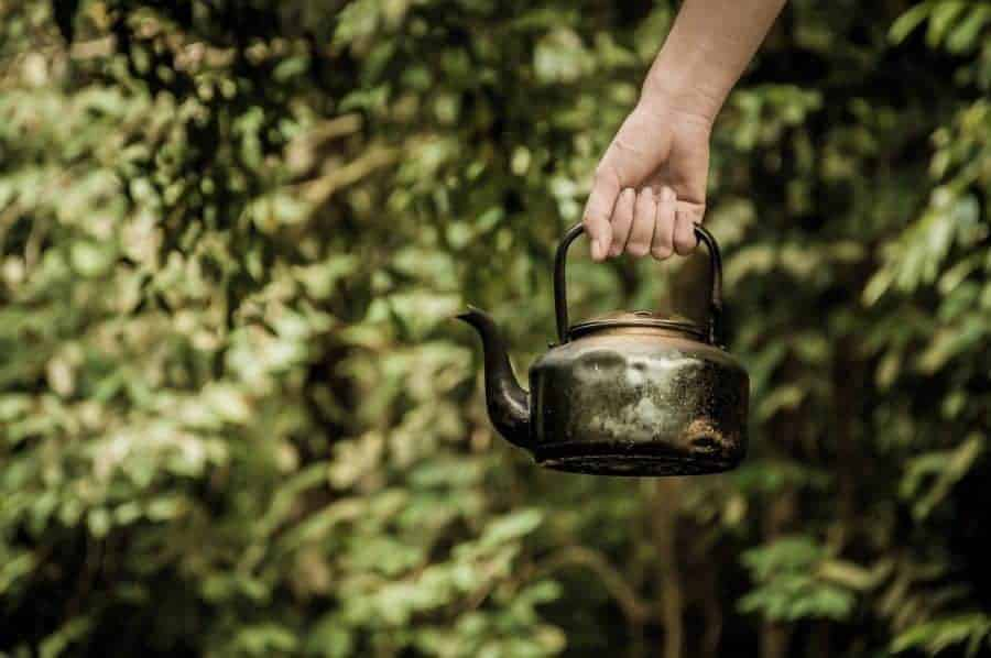 Outdoor vintage Kettle