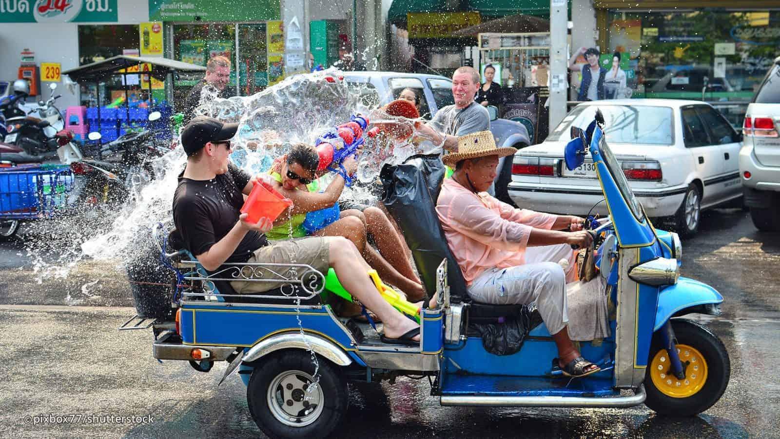 Songkran Festival, Thailand.