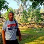 EC at the heart of Angkor Thom,