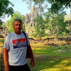 EC at the heart of Angkor Thom,
