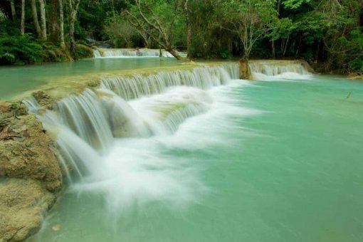 Tad Si Kuang Waterfall, Luang Prabang, Laos