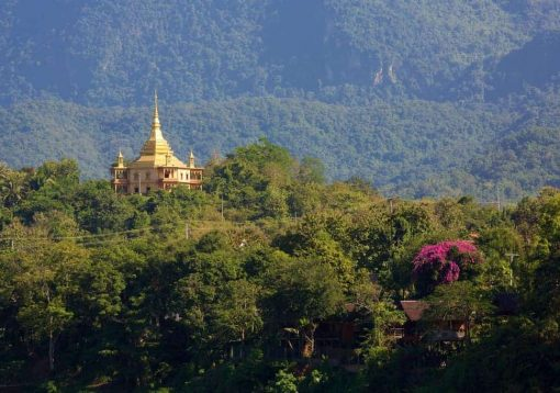 Scenery outside of Luang Prabang, Laos.