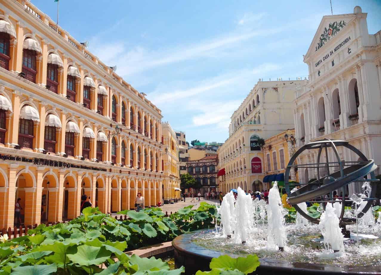 Senado Square, Macau.