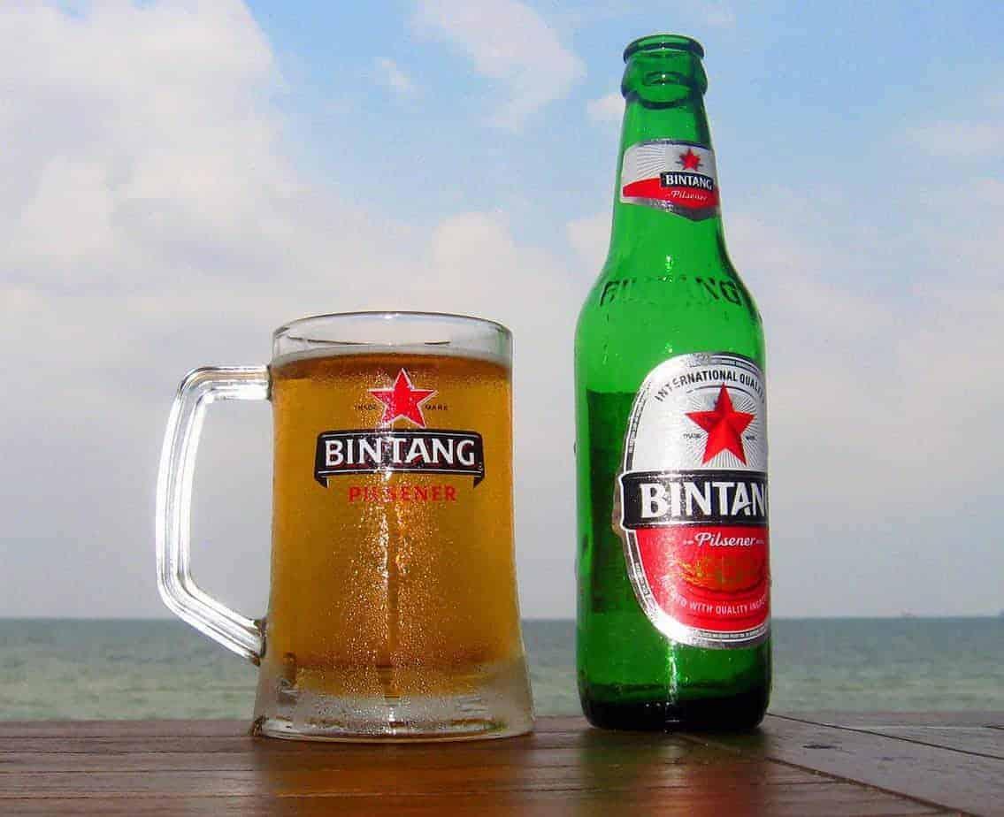 Bintang Beer, Sumatra.