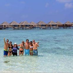 Group tours in the Maldives.