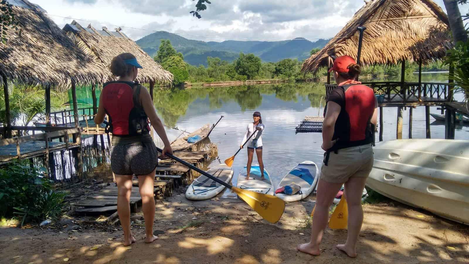 SUP Kampot Cambodia Tour