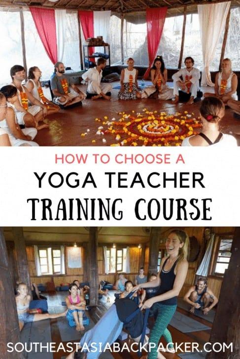 How to choose a Yoga Teacher Training Course