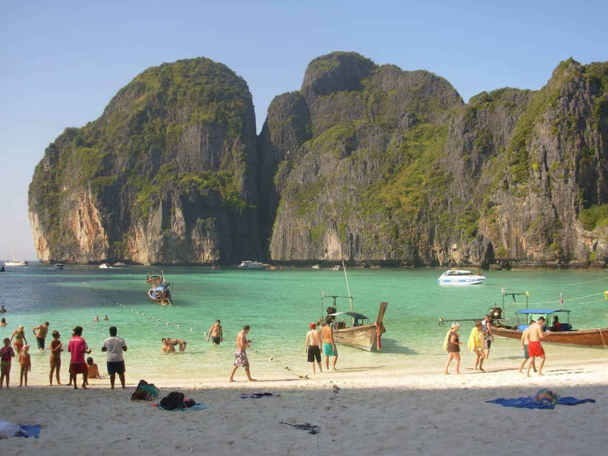 Maya Bay Koh Phi Phi set to close April 2018
