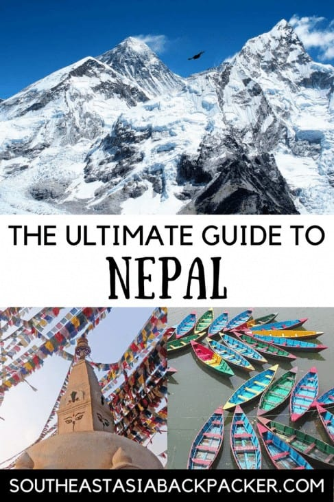 The Ultimate Guide To Nepal, South East Asia Backpacker Pin Image