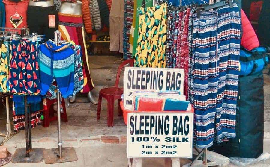 Sleeping Bag Liners for sale in Vietnam