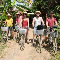 Cycling through the countryside in Battambang