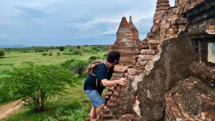 Temple Climbing Finally Banned in Bagan, Myanmar