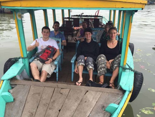 Boat ride to Cam Thanh Village, Hoi An