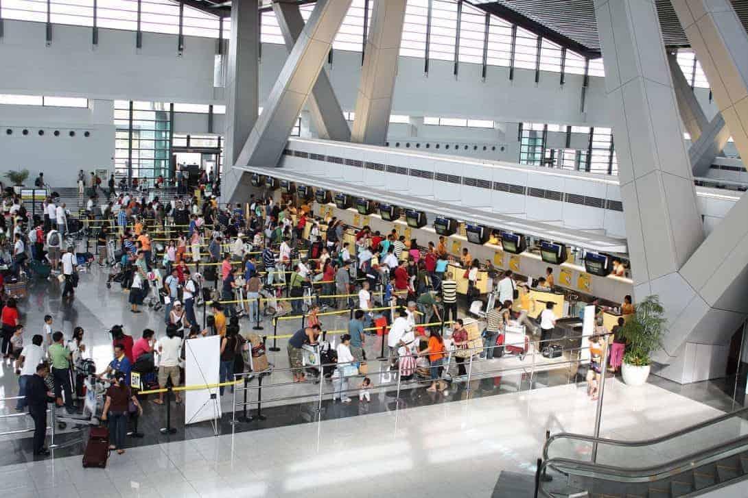 Airport in Manila, Philippines