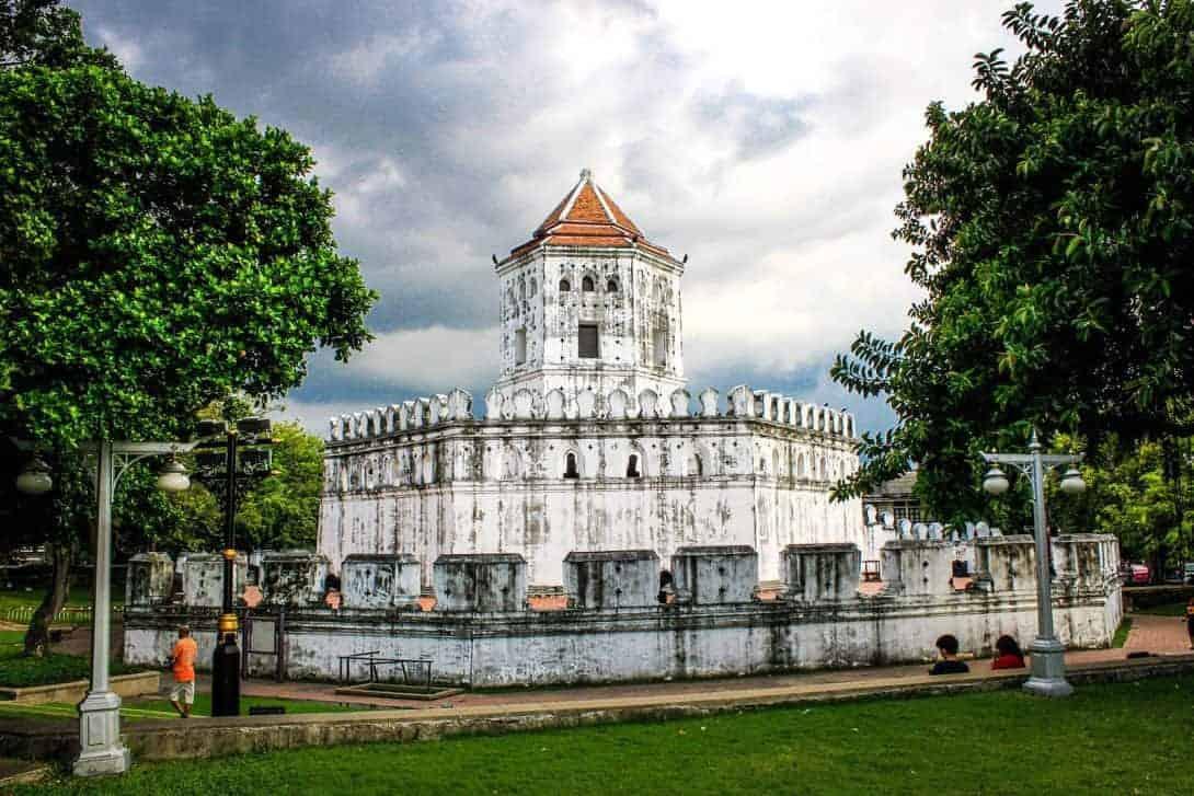 Phra Athit Park, Bangok