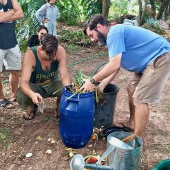 Making Effective Microorganisms at Rak Tamachat Permaculture Farm
