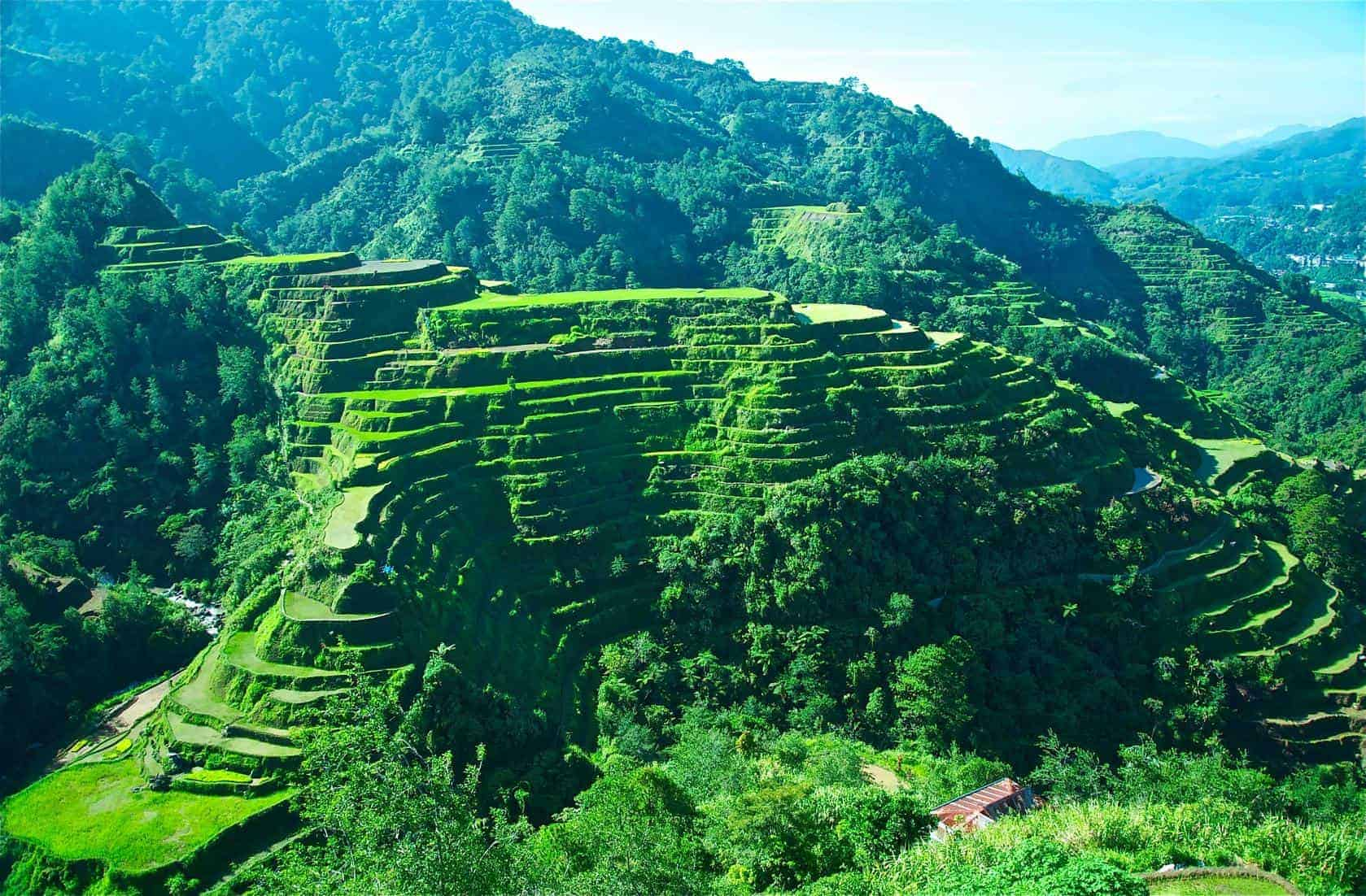 The amazing UNESCO World Heritage Banaue Rice Terraces