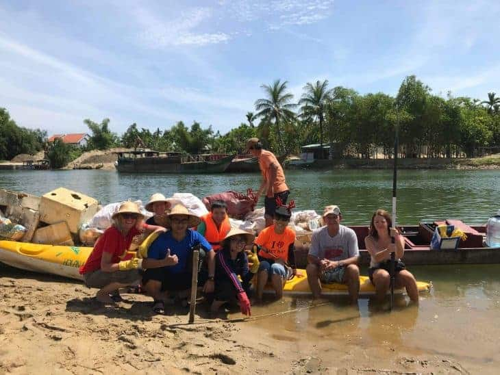 Kayak and Clean Up Tours in Hoi An, Vietnam