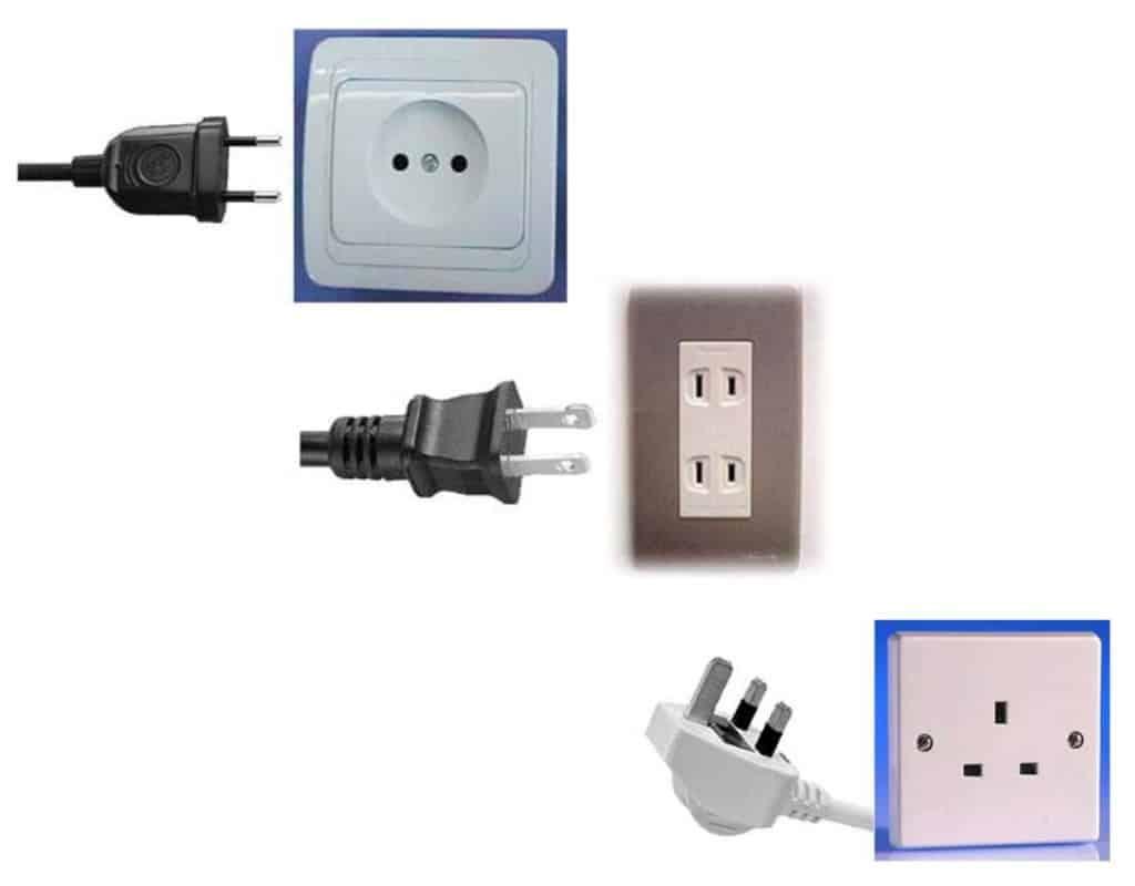 Plug sockets in Vietnam